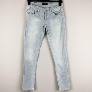 Levi's 524 Skinny Jeans Railroad Stripe Pinstripe